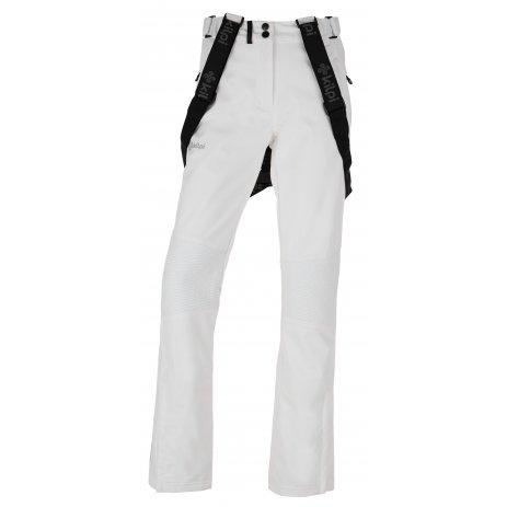 Dámské zimní softshellové kalhoty KILPI DIONE-W HL0013KI BÍLÁ