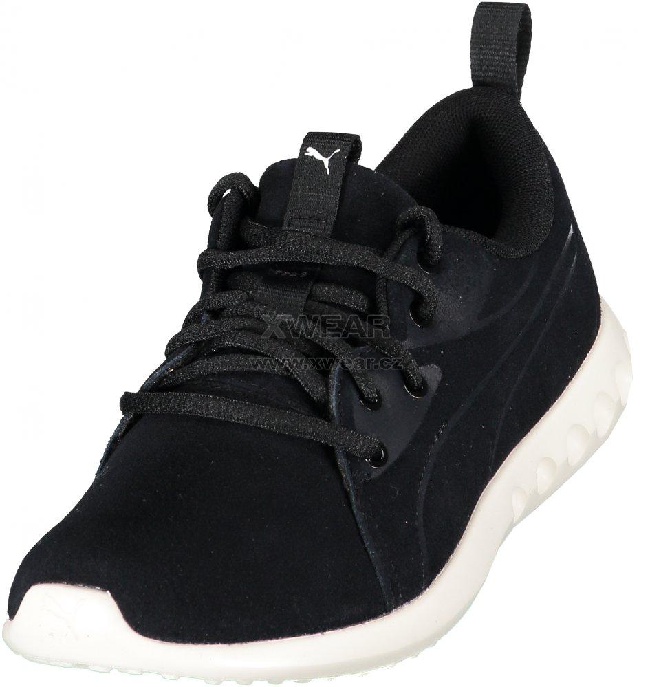 Dámské boty PUMA CARSON 2 MOLDED SUEDE 19058901 PUMA BLACK WHISPER WHITE ddade270787