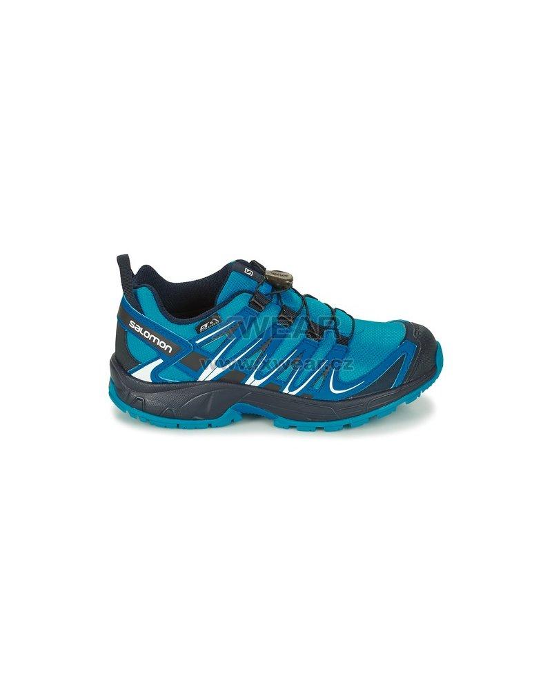 Dětské trekové boty SALOMON XA PRO 3D CSWP K HAWAIIAN SURF MYKONOS BLUE NAVY 881351e5b0a