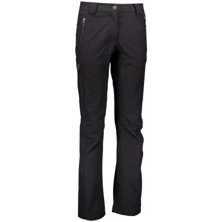 Dámské softshellové kalhoty ALPINE PRO ALBA LPAL047 ČERNÁ