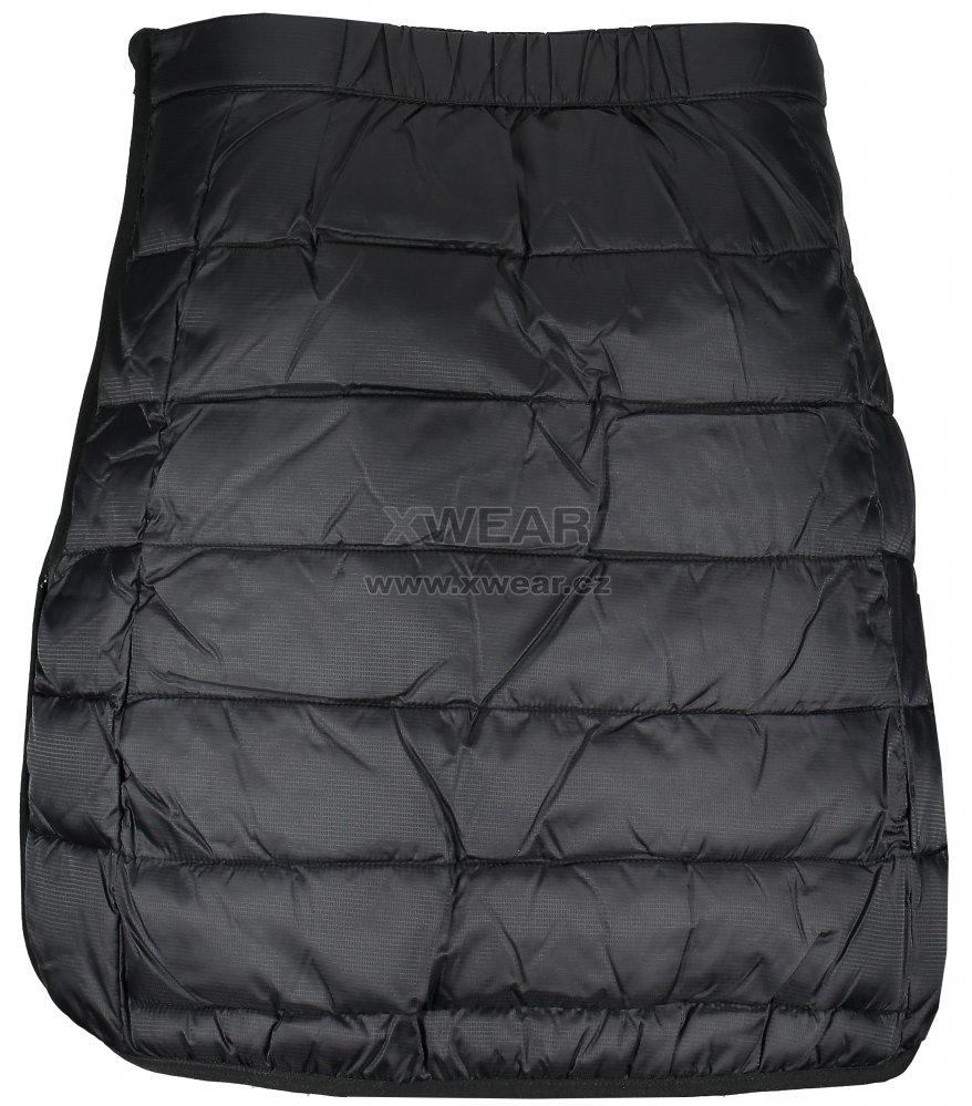 f70c89ac79e Dámská prošívaná sukně TRIMM ZIPPY BLACK velikost  XS   XWEAR.cz