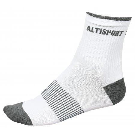 Sportovní ponožky ALTISPORT TAHAT ALSW17401 BÍLÁ