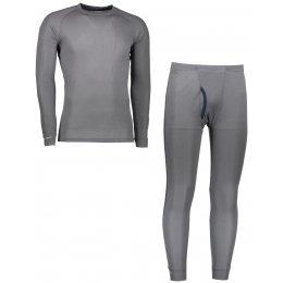 Akční set pánské termo triko s dlouhým rukávem + spodky SENSOR ORIGINAL ACTIVE SET 17200050 ŠEDÁ