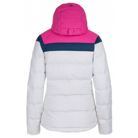Dámská zimní bunda KILPI SYNTHIA-W HL0111KI BÍLÁ