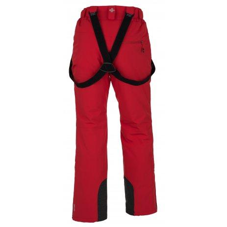 Pánské zimní kalhoty KILPI MIMAS-M HM0013KI ČERVENÁ