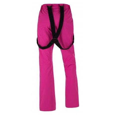 Dámské zimní softshellové kalhoty KILPI DIONE-W HL0013KI RŮŽOVÁ