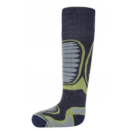 Dětské lyžařské ponožky KILPI ANXO-J HJ0060KI RŮŽOVÁ velikost  31 ... d446a21397