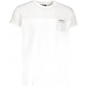 Pánské tričko NORDBLANC ZOOTY NBSMT6810 BÍLÁ