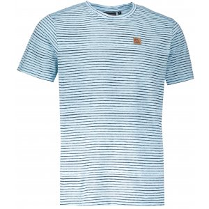 Pánské triko s krátkým rukávem ALPINE PRO RIAM 3 MTSL269 SVĚTLE MODRÁ