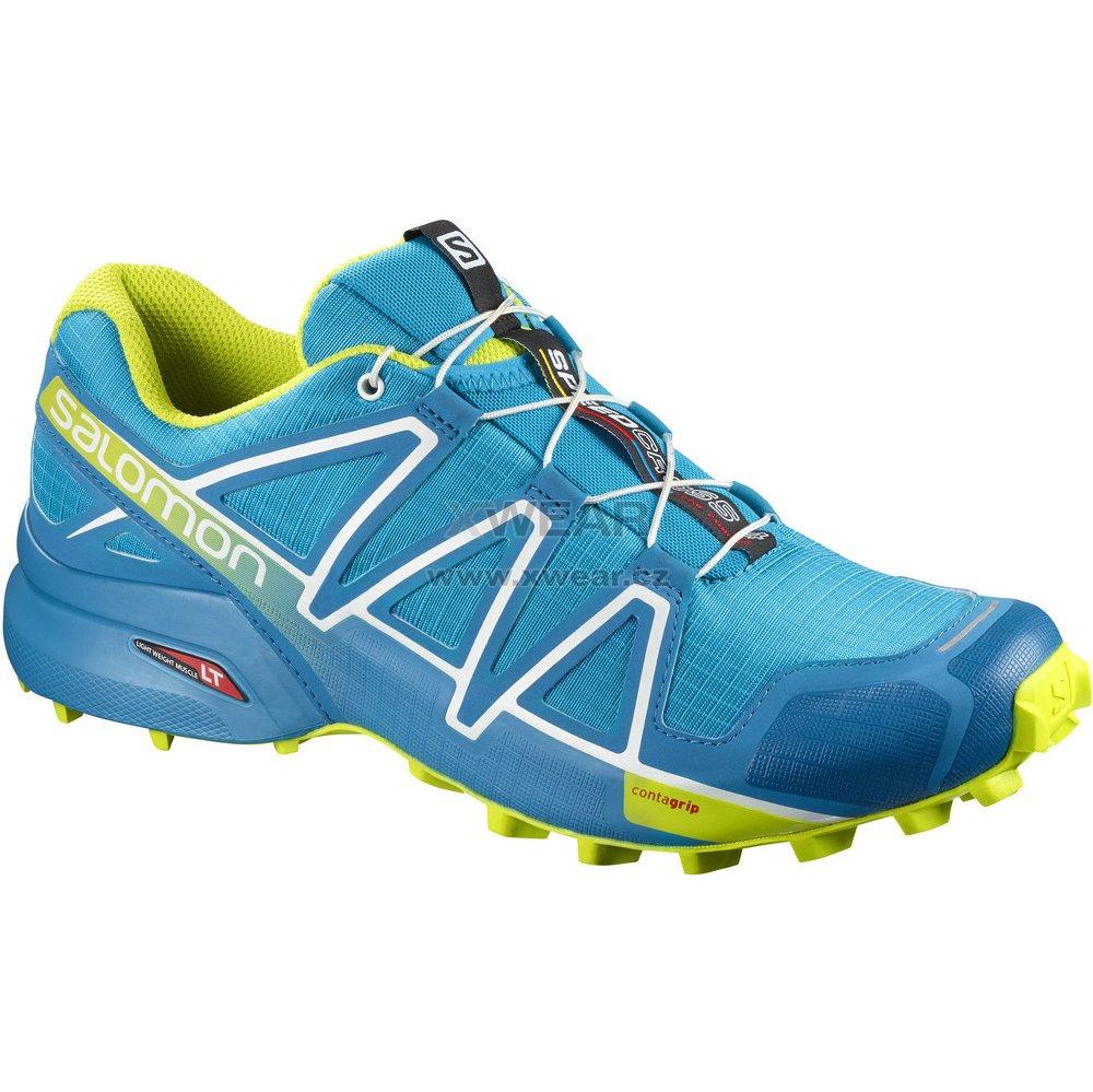 Pánské běžecké boty SALOMON SPEEDCROSS 4 L40074600 HAWAIIAN SURF ACID  LIME WHITE 5c8d913ea8