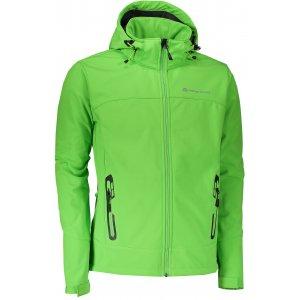 Pánská softshellová bunda ALPINE PRO NOOTK 3 MJCL242 ZELENÁ