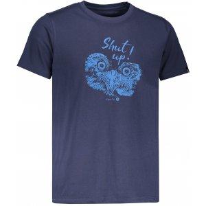 Pánské tričko s krátkým rukávem ALPINE PRO UNEG 5 MTSL255 TMAVÁ MODRÁ