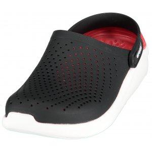 Pánské pantofle CROCS LITERIDE CLOG 204592-066 BLACK WHITE 927b3d72c4