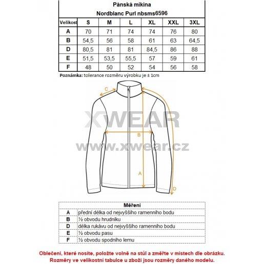 Pánská softshellová bunda NORDBLANC SUAVE NBWSM6596 ČERNÝ MELÍR