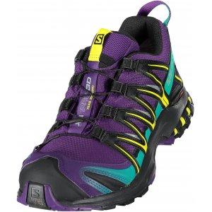 Dámské trekové boty SALOMON XA PRO 3D GTX® W L39967800 ACAI BLACK DYNASTY b57959e8a9