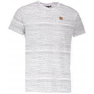Pánské triko s krátkým rukávem ALPINE PRO RIAM 3 MTSL269 BÍLÁ