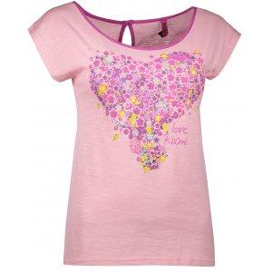 Dámské triko KIXMI ELISA AALTS18102 SVĚTLE RŮŽOVÁ