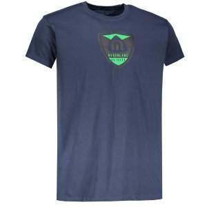 Pánské tričko NORDBLANC CREST NBSMT6814 TEMNÁ MODRÁ
