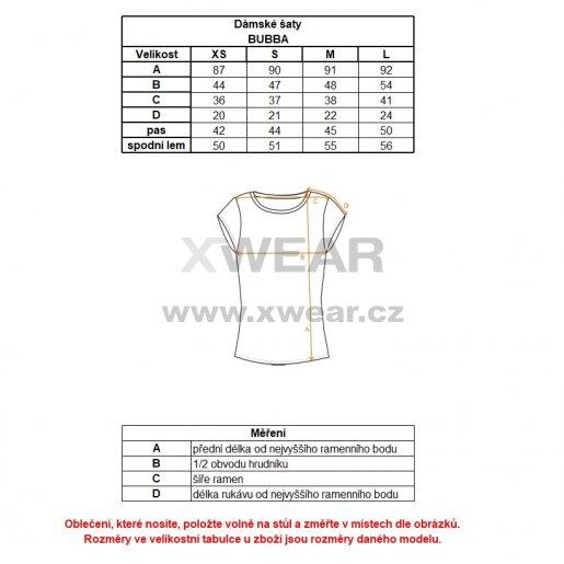 Dámské šaty LOAP BUBBA CLW1860 BÍLÁ velikost  S   XWEAR.cz eea1168283
