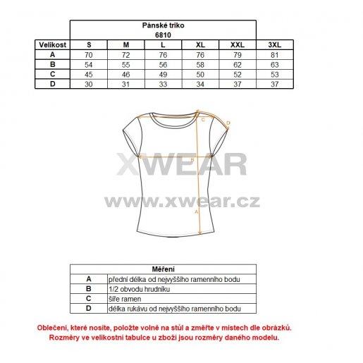 Pánské tričko NORDBLANC ZOOTY NBSMT6810 MODRÁ HVĚZDA