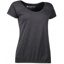 Dámské triko s krátkým rukávem ALPINE PRO BRAMA LTSL382 ČERNÁ