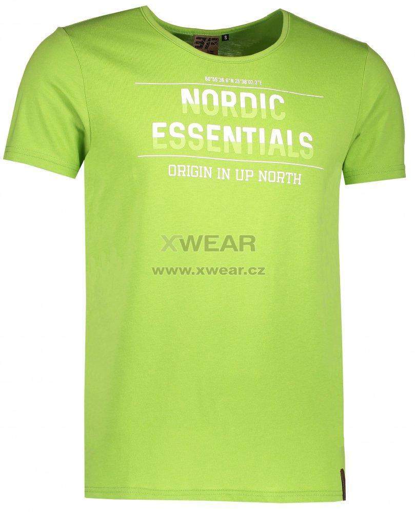 Pánské triko s krátkým rukávem ICEPEAK LUKA 957723689 ASPARAGUS ... a14e89f02b