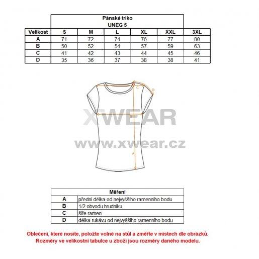 Pánské tričko s krátkým rukávem ALPINE PRO UNEG 5 MTSL255 ORANŽOVÁ