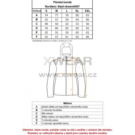Pánská softshellová bunda NORDBLANC STAID NBWSM6597 TMAVĚ HNĚDÁ