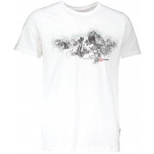 Pánské tričko s krátkým rukávem ALPINE PRO UNEG 5 MTSL255 BÍLÁ