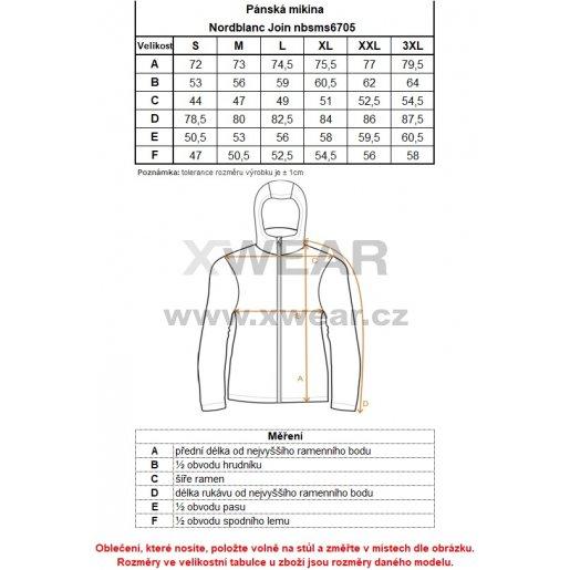 Pánská mikina NORDBLANC JOIN NBSMS6705 TEMNÁ MODRÁ