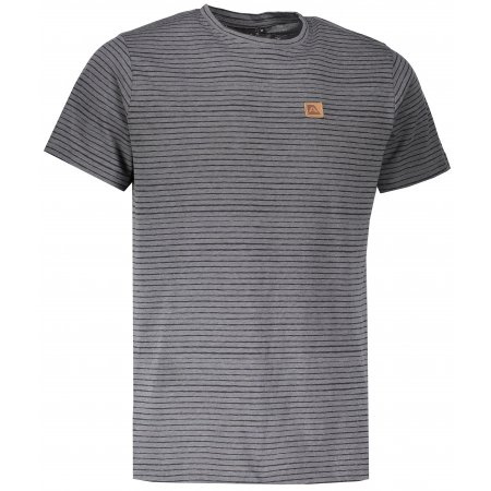 Pánské triko s krátkým rukávem ALPINE PRO RIAM 3 MTSL269 TMAVĚ ŠEDÁ