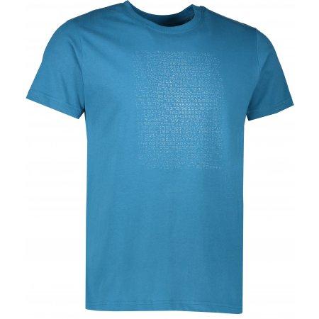 Pánské triko s krátkým rukávem ALPINE PRO AMIT 5 MTSL261 TMAVĚ MODRÁ