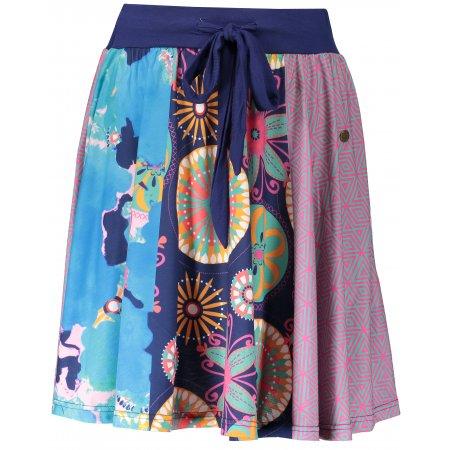 Dámská sukně KIXMI ESTELA AALSS18500 TMAVĚ MODRÁ
