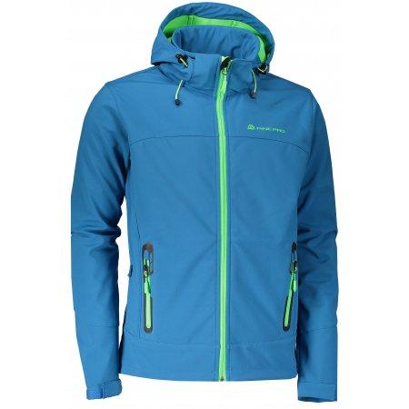Pánská softshellová bunda ALPINE PRO NOOTK 3 MJCL242 TMAVĚ MODRÁ