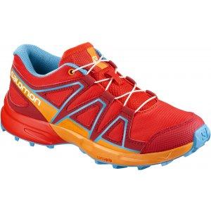 Dětské běžecké boty SALOMON SPEEDCROSS J L40131500 FIERY RED BRIGHT  MARIGOLD HAWAIIAN SURF 9bd53d52e7