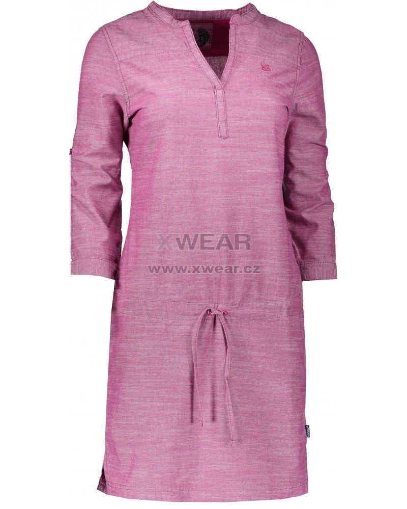 4b783b8a9367 Dámské šaty LOAP NICIA CLW1889 RŮŽOVÁ velikost  XS   XWEAR.cz