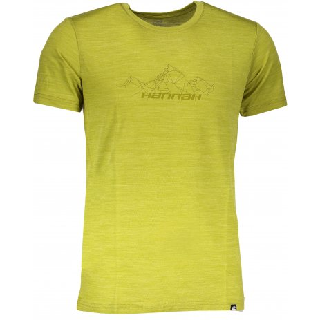 Pánské tričko HANNAH TRIG LIME GREEN