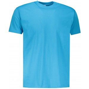 Pánské tričko FRUIT OF THE LOOM VALUEWEIGHT T  AZURE BLUE