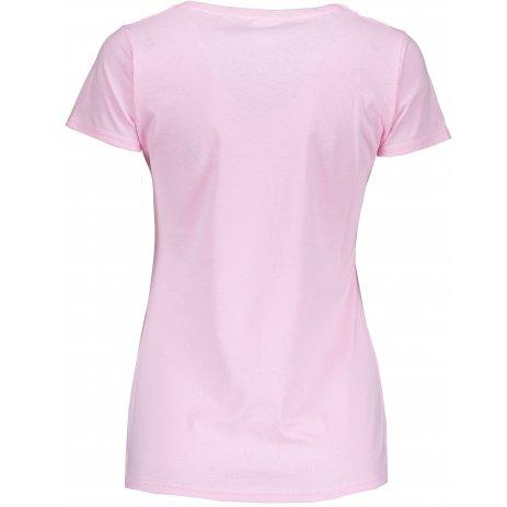 Dámské tričko FRUIT OF THE LOOM LADY FIT LIGHT PINK