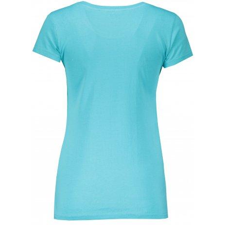 Dámské tričko HANNAH FLERIS BLUE CURACAO