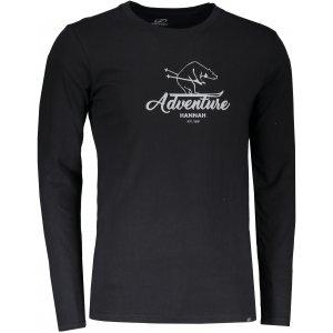 Pánské tričko s dlouhým rukávem HANNAH SKILL ANTHRACITE PRINT 2