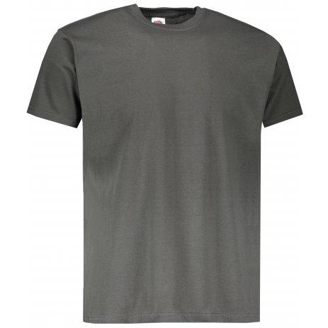 Pánské tričko FRUIT OF THE LOOM VALUEWEIGHT T LIGHT GRAPHITE