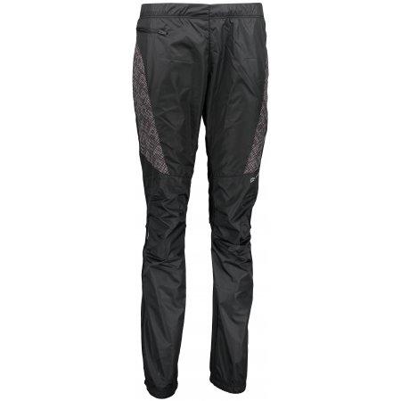Dámské zateplené kalhoty ALPINE PRO HUWA LPAM256 ČERNÁ