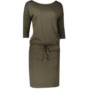 Dámské šaty NUMOCO A13-76 KHAKI