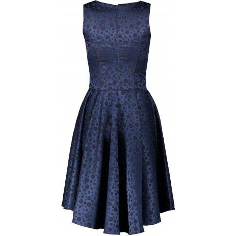 Dámské šaty NUMOCO A175-3 TMAVĚ MODRÁ