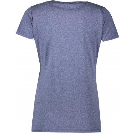 Dámské tričko FRUIT OF THE LOOM LADY FIT VINTAGE HEATHER NAVY