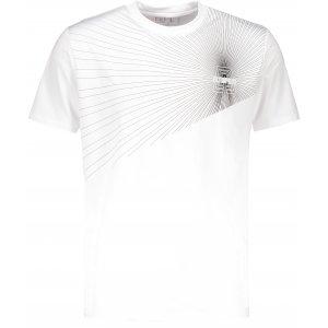 Pánské funkční triko ALTISPORT KOLLET ALMS18077 BÍLÁ