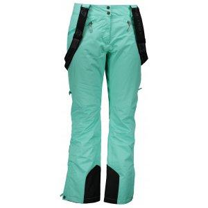 Dámské lyžařské kalhoty ALPINE PRO MINNIE 4 LPAM280 ZELENÁ