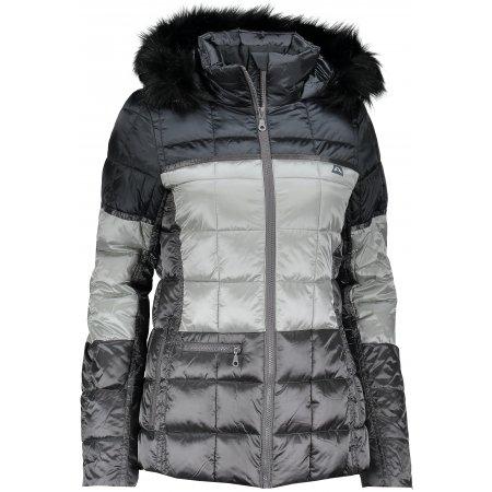 Dámská zimní bunda ALPINE PRO ANDREZA LJCM318 ŠEDÁ
