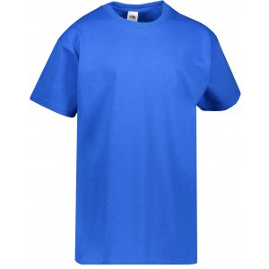 Dětské tričko FRUIT OF THE LOOM VALUEWEIGHT T  ROYAL BLUE
